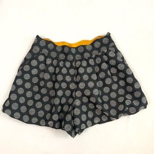Morine Comte Marant Black And White Bubble Shorts
